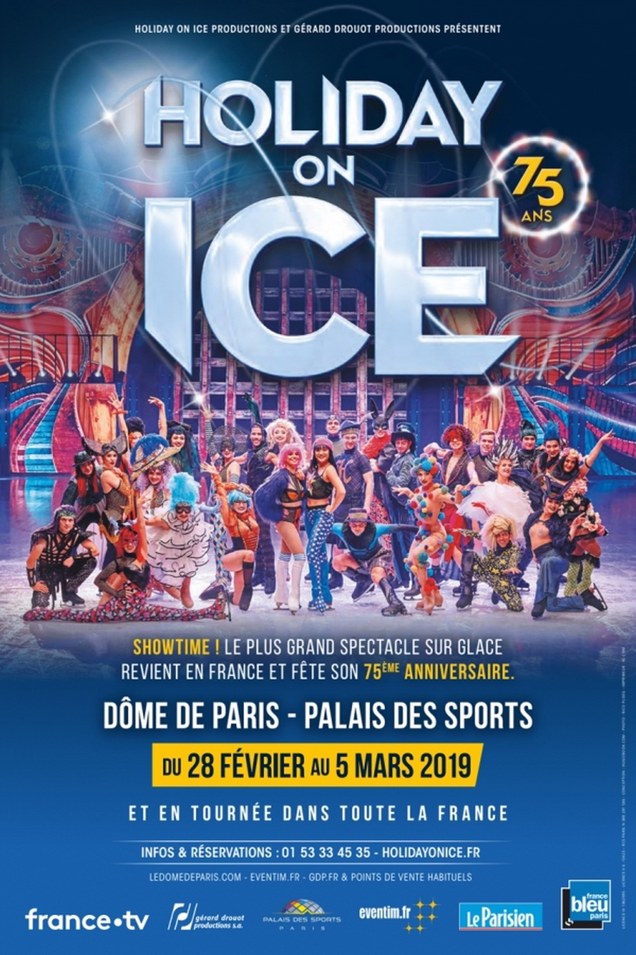 75 ans Holiday On Ice