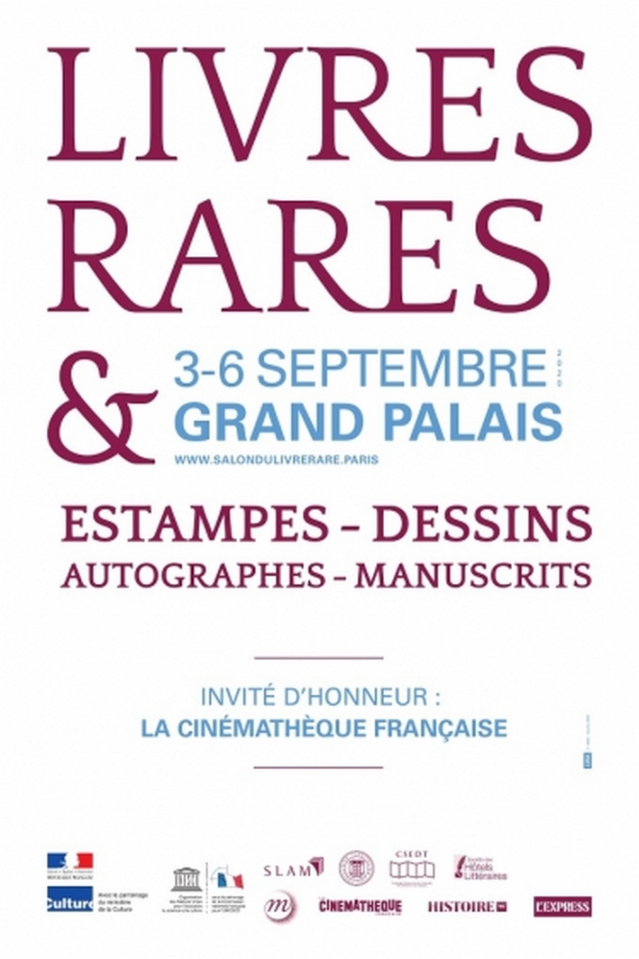 Report du Salon International du Livre Rare