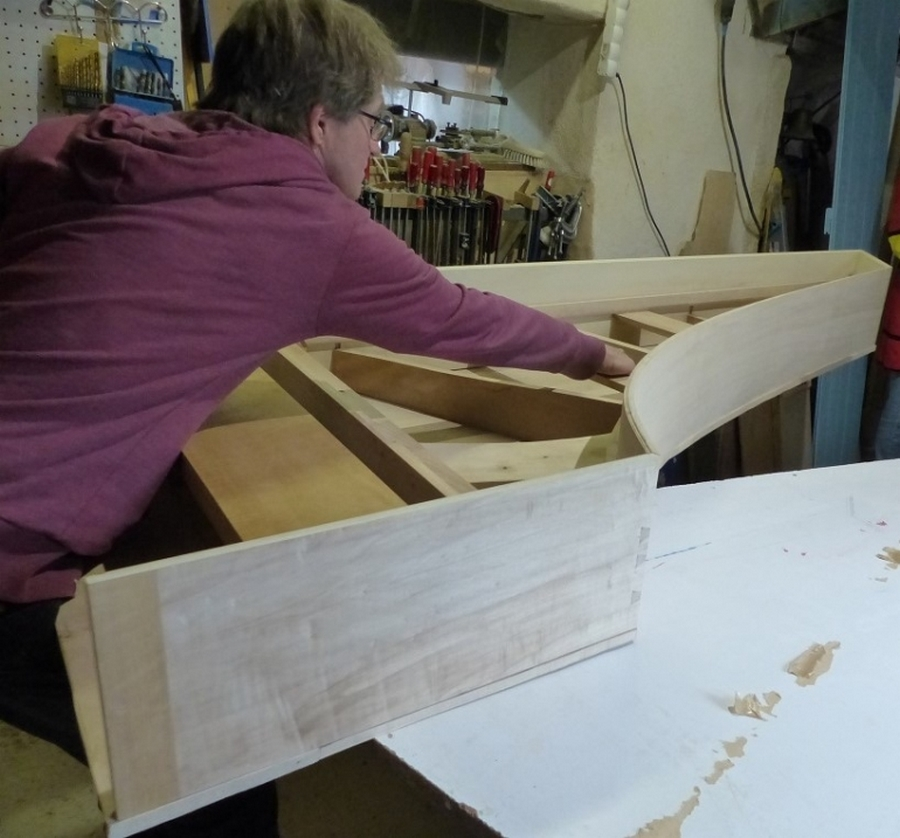 Fabrication d'un clavecin