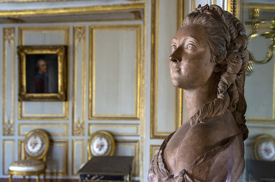 Début de la restauration de l'appartement de Madame du Barry à Versailles