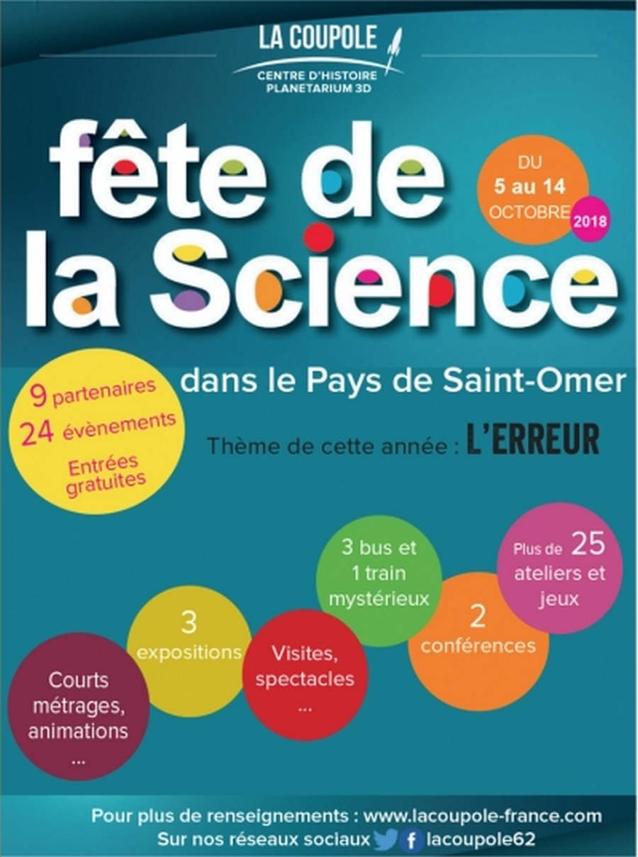 Fête de la Science à la Coupole